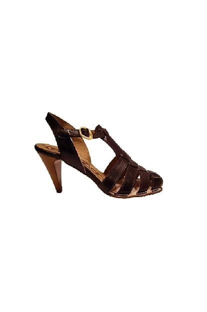 a6ea60d64671 Tentazione Women s Fashion Sandals Brown Brown  Amazon.co.uk  Shoes   Bags