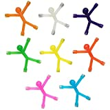 8PCS Novelty Mini Man Fridge Magnets, Toosunny Cute Rubber Magnet...