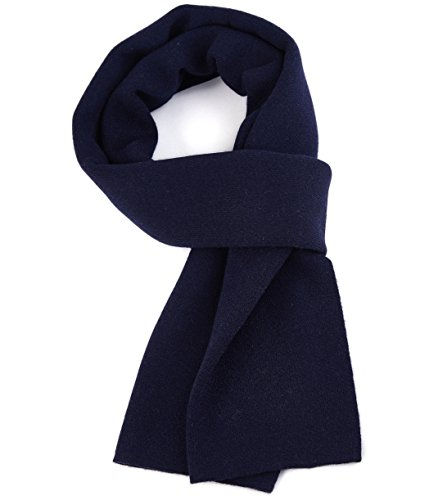 Bonnenult Men's Winter Cashmere Scarf Warm Merino Wool Scarves