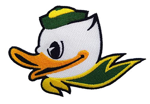 University of Oregon Ducks Alternate Logo Iron on Jersey Patch Rose Bowl ()