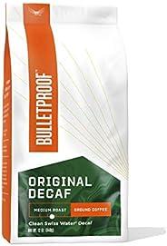 The Original Ground Decaf Coffee, Medium Roast, 12 Oz, Bulletproof Keto Friendly 100% Arabica Coffee, Certifie