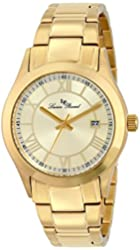 Lucien Piccard Women's LP-12763-YG-10 Vienna Stainless Steel Watch