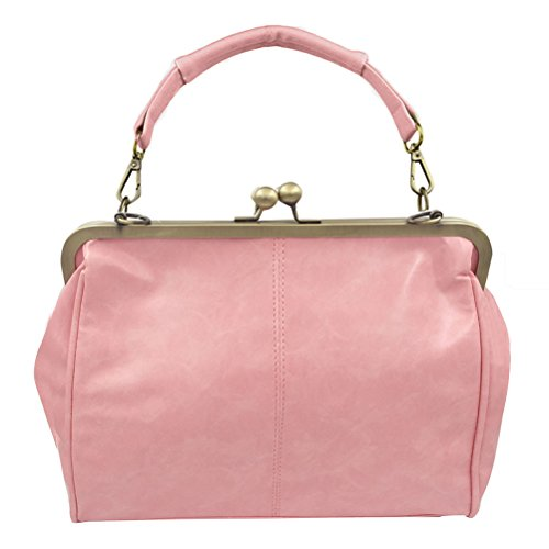 Bag Clutch Kiss Strap Donalworld Framed Lock Women Replacement Shoulder E wIwqF8B