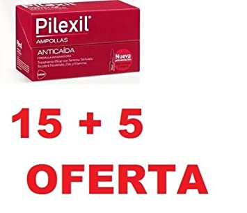 PILEXIL AMPOLLAS ANTICAIDA 20 amp 15+5 lab. Lacer NUEVO MONOVARSALUD New Gift To