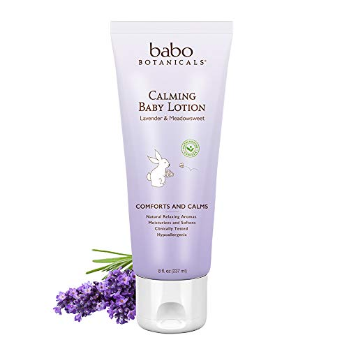 Babo Batonicals Calming Baby Lotion 8 Ounces Babo Botanicals BABO-8022