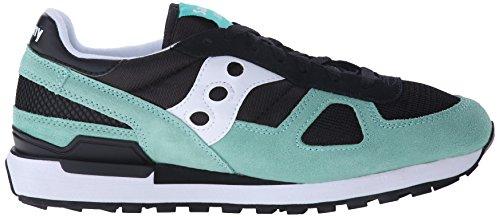Originali Di Saucony Mens Shadow Original Sneaker Black / Aqua
