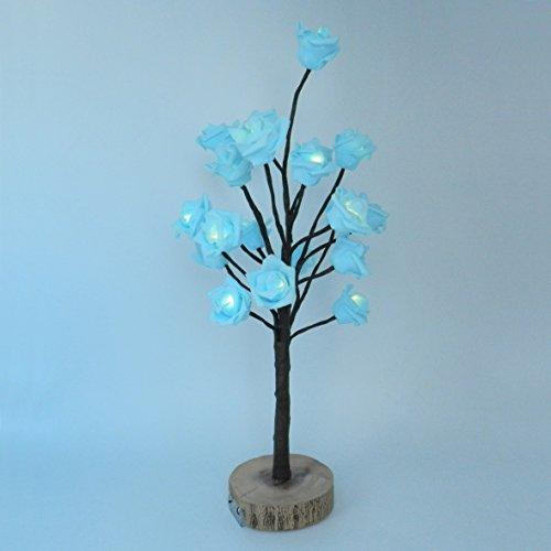 Blue Led Light Tree - 5