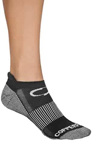 Copper Fit Unisex Copper Fit Sport Socks With Anti-odor Technology and Arch Compression – 3 Pair