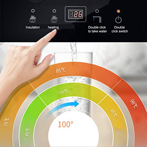Hot Water Dispensers Household Vertical hot Water Dispenser Bedroom Water Dispenser Cold and Heat Energy Saving Small Multi-Function Automatic hot Water Dispenser Intelligent hot Water Dispenser by Combination Water Boilers Warmers (Image #4)