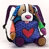 Britto Back Pack Puppy Romero School Bag by Brito