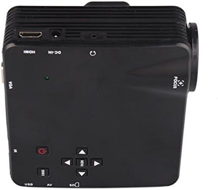 Proyector LED portátil Mini HD LZ-H80 80 lúmenes proyectores de ...