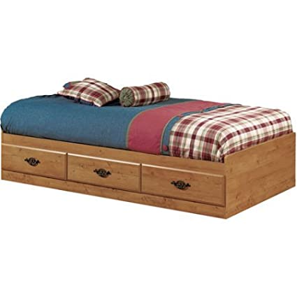 Amazon com: Twin Sized Bed Made from Laminated Particle