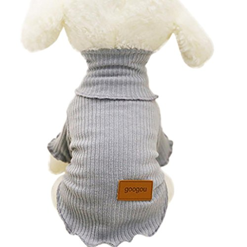 Midwest Express Airlines - Hot Sale Fashion New Pet Clothes Cute Lovely Cute Small Pet Dog Clothes Fashion Costume Puppy Cat T-Shirt Apparel by Neartime (S, Gray)