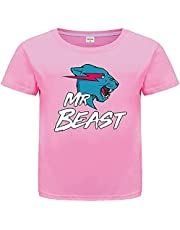 Emperor Dragon YouTube Gamer Mr Beast Top Cotton for Boys and Girls T-Shirt