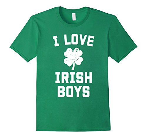 Mens i love irish boys shirt st patricks day gift 3XL Kelly Green (Boys Irish Green Love)