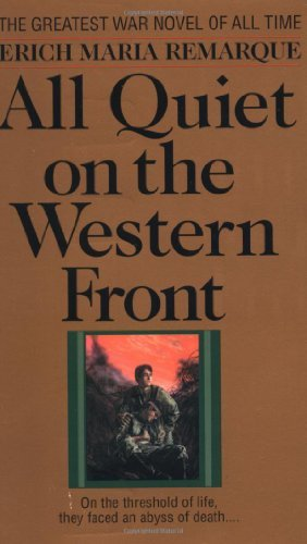 Book cover from By Erich Maria Remarque - All Quiet on the Western Front (2.10.1987)by Erich Maria Remarque