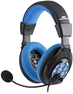 Turtle Beach Ear Force Disney Infinity: Marvel Super Heroes Stereo Gaming Headset for Xbox 360, Playstation 4, Nintendo Wii U, PC and Mobile Devices by Turtle Beach: Amazon.es: Videojuegos