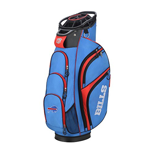 Wilson 2018 NFL Golf Cart Bag, Buffalo Bills