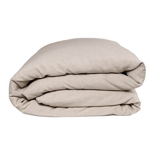 European Made Pure Linen Duvet Cover. 100% Fine Organic and Natural Flax (Full, - Pure Linen