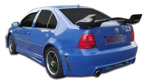 Duraflex ED-JOZ-127 Velocity Rear Bumper Cover - 1 Piece Body Kit - Compatible For Volkswagen Jetta 1999-2004