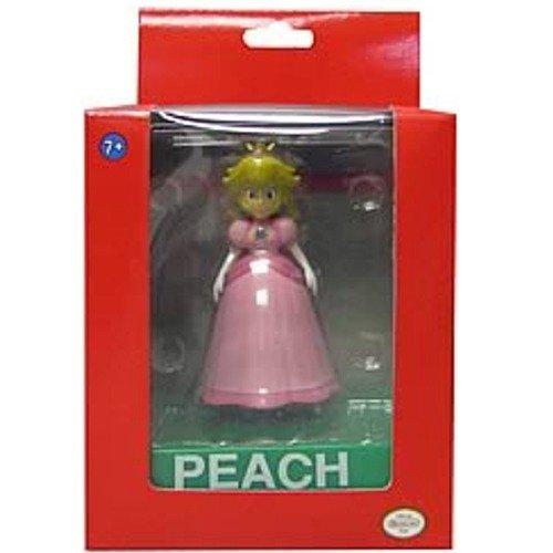 Super Mario Wii Deluxe Vinyl 4 Inch Action Figure Peach ()