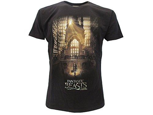 T-Shirt NEWT zum Macusa von PHANTASTISCHE TIERWESEN - 100% Offiziell WARNER BROS Harry Potter
