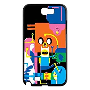 DDOUGS I Adventure Time Cartoon Brand New Cell Phone Case for Samsung Galaxy Note 2 N7100, DIY I Adventure Time Cartoon Case