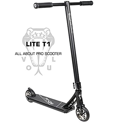 VOKUL LITE Series Complete Pro Stunt Scooter for Kids/Teens, with Reinforced Frame -Lightweight Aluminum Handlebars and 120mm Metal Core Wheels by Vokul