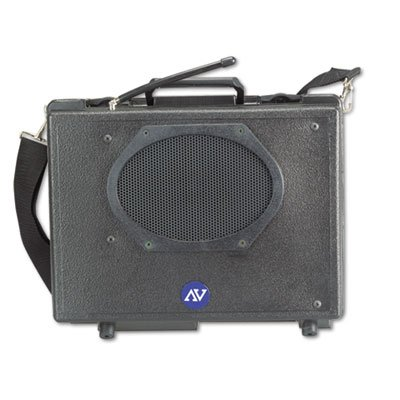 AMPLIVOX PORTABLE SOUND SYS. * Wireless Audio Portable Buddy Professional Group Broadcast PA System, Sold as 1 (Amplivox Portable Sound Systems)