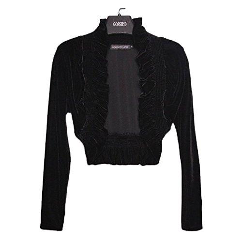 Velvet Bolero Jacket - 6