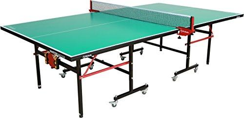 Garlando Master Indoor Table Tennis Table, Green Top