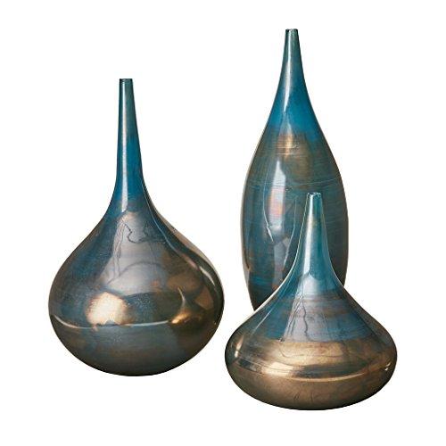 - Lucia Tall White Vase , Handmade Large Ceramic Vases , Stone Set Of 3 IvoryÊ