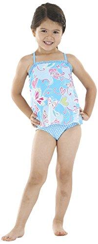 Zoggs Swimming Costume Girls (Zoggs Girl's Paradise Beach Swimdress Swimming Costume)
