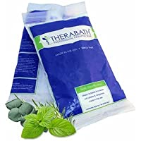Therabath Professional Paraffin Refill Beads, Eucalyptus Rosemary Mint, Box of 6 1-lb Bags by Therabath