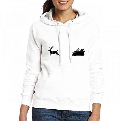 Tshirts On Womens Hoodies Graphic Ralph Santa Blend Sweatshirts Christmas Customized Pullover Hoodies Personalized Womens Stephanie White HzxI5AAq