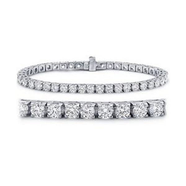 Houston-Diamond-District-2-20-Carat-Classic-Tennis-Bracelet-14K-White-Gold-Value-Collection