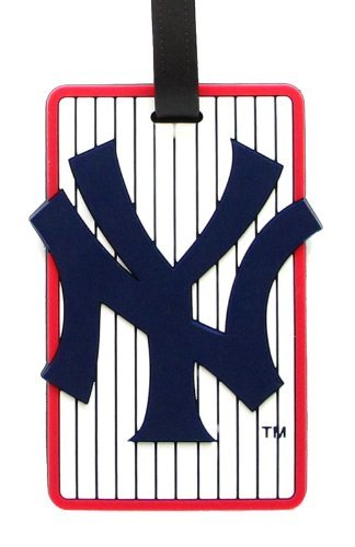 New York Yankees Rubber Bag Tag
