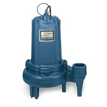 Sta-Rite SCC9200520M Sewage Pump: Industrial Submersible