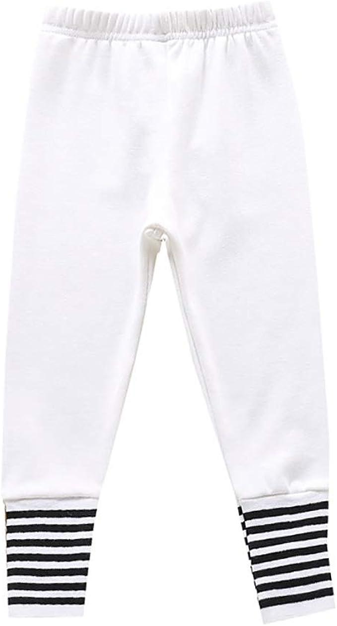 Hongyuangl Niños Niñas Leggings deportivos Medias Pantalones de ...