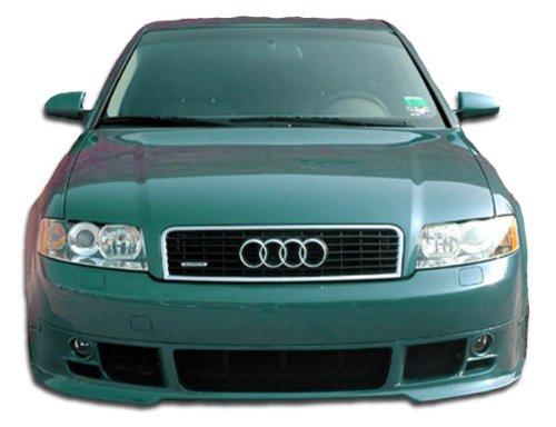 2002-2005 Audi A4 4DR Duraflex Type A Front Lip Under Spoiler Air Dam - 1 Piece (4dr Duraflex Fiberglass Type)