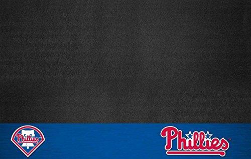 FANMATS MLB Philadelphia Phillies Vinyl Grill Mat