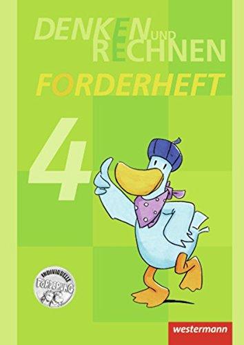 Denken und Rechnen Zusatzmaterialien - Ausgabe 2011: Forderheft 4 Broschüre – 1. Juli 2012 Claudia Lack Bernadette Thöne Maria Wichmann Westermann Schulbuch