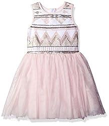 Girls Sequin Bodice Tutu Dress