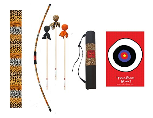 Two Bros Bows Safari Archery Combo Set -