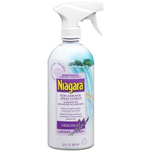 Niagara Non-Aerosol Spray Starch - Lavender Scent (Best Starch For Shirts)