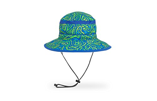 Sunday Afternoons Kids Fun Bucket Hat, Green Fossil, Small