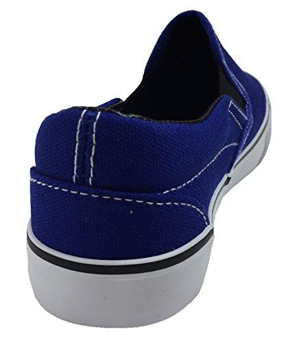 Slip Blue Shoes Kid's On Tennis Canvas Classic Sneaker 5xvwqaB