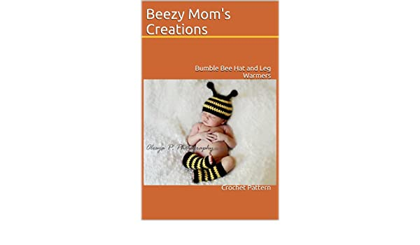 1c1e2dd62 Bumble Bee Hat and Leg Warmers (Crochet Pattern) - Kindle edition by ...