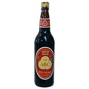 ABC Kecap Manis Sweet Soy Sauce - 21 oz bottle x 2