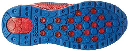 Geox J Android B, Zapatillas para Niños Azul (Royal/redc0833)